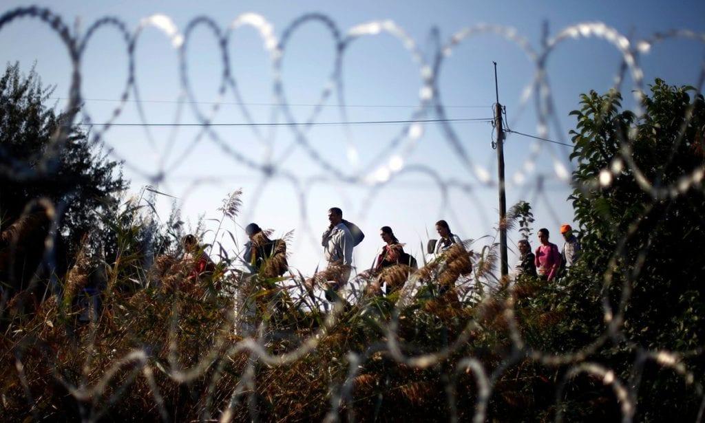 Syrian refugees ©   Matthias Schrader