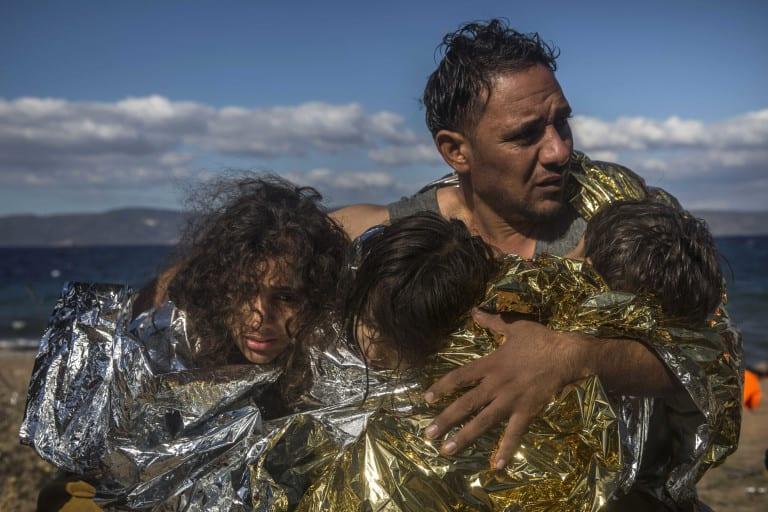 Syrian refugees © | Matthias Schrader