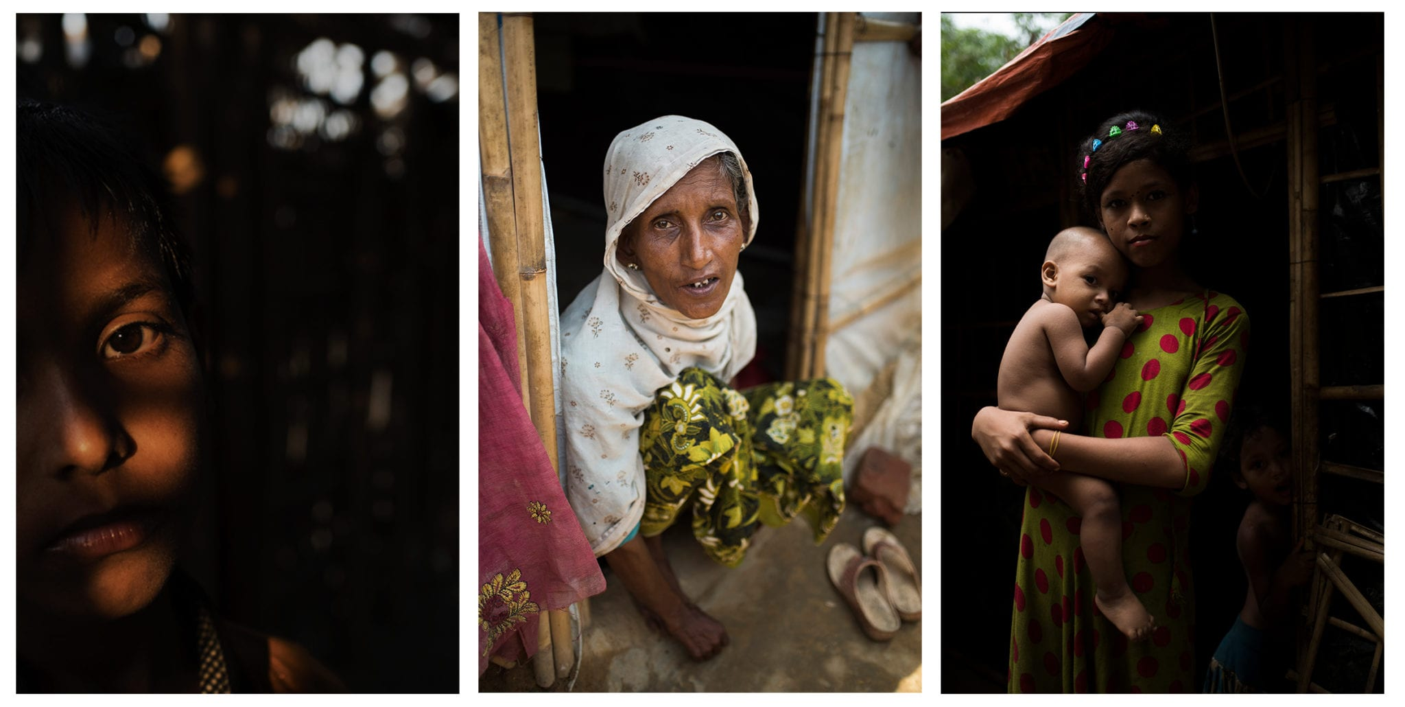 Rohingya women face additional challenges adjusting to conditions on the camps. © |Hailey Sadler