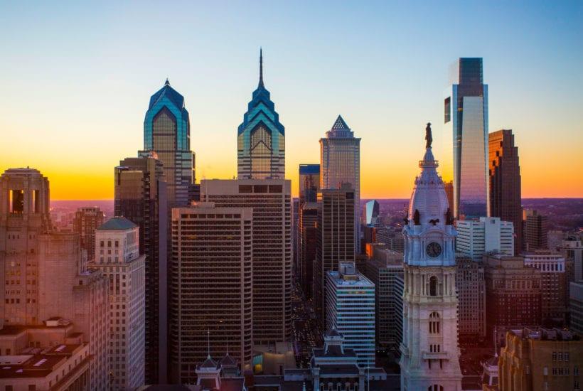 The Philadelphia skyline   © The Loews Hotel