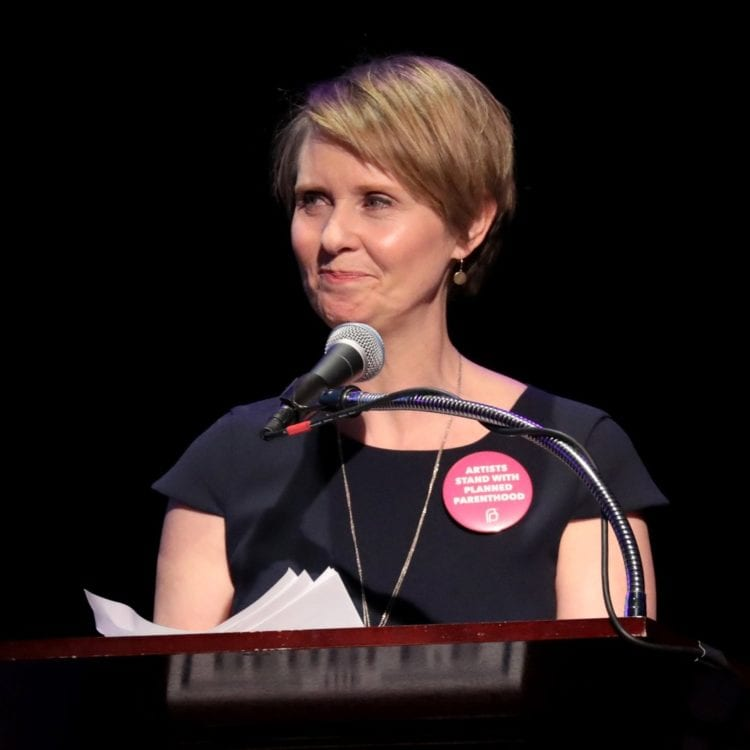 Actress Cynthia Nixon Runs to be New York's First Female Governor