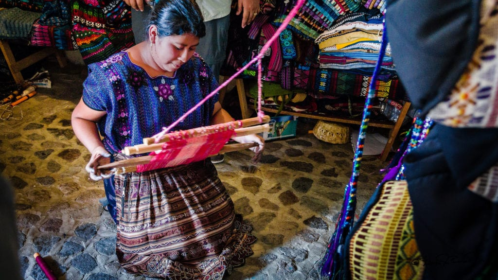 Traditional Guatemala weaving © | Steven dosRemedios/Flickr CC