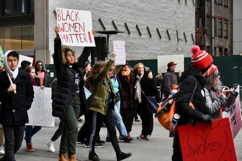 Women marching for their rights © | Alec Perkins/Wikipedia CC