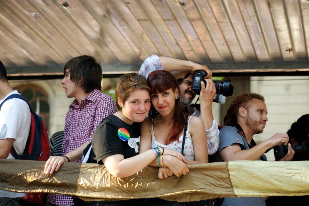 A young lesbian couple © | blmurch/Wikipedia CC