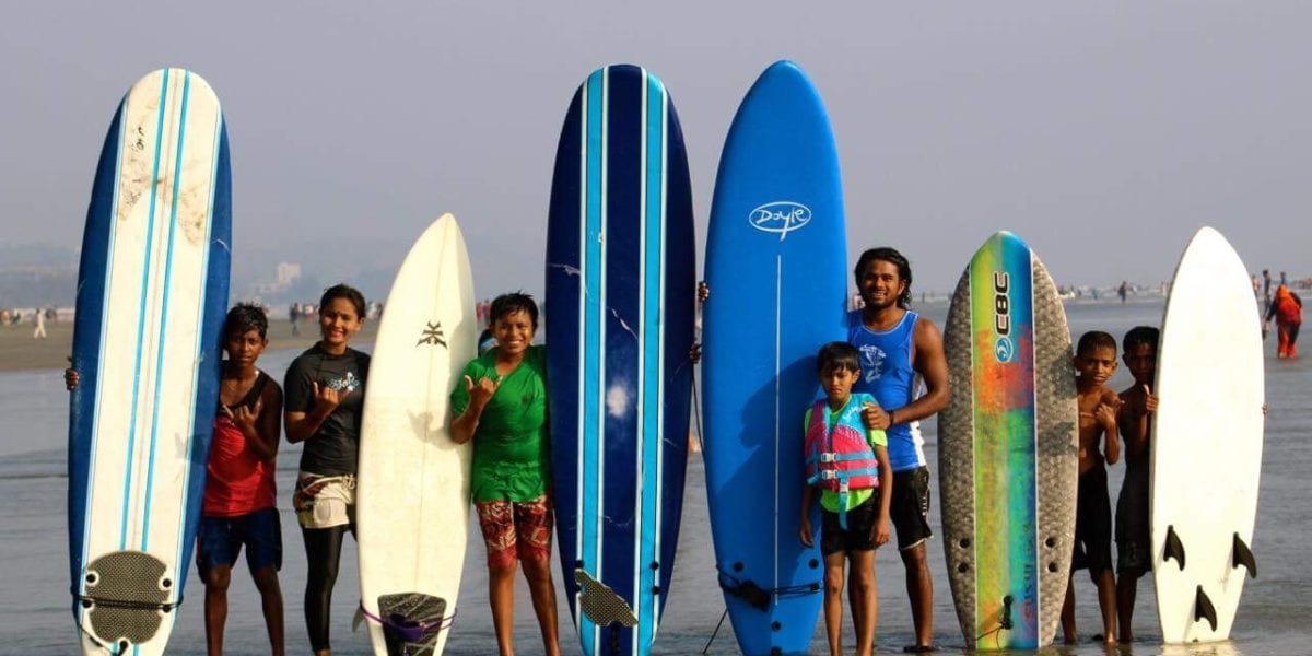 © | Photo provided by Bangladesh Surf Girls and Boys Club