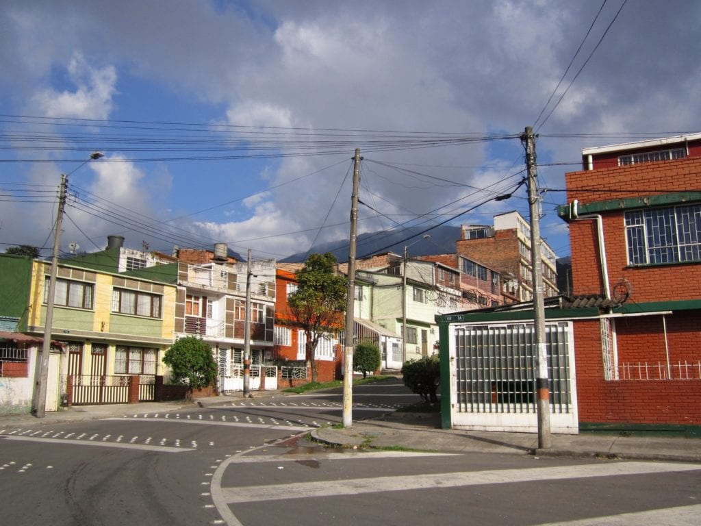 Bogota's Bario Sur neighborhood ©   Felipe Restrepo Acosta/Wikipedia CC