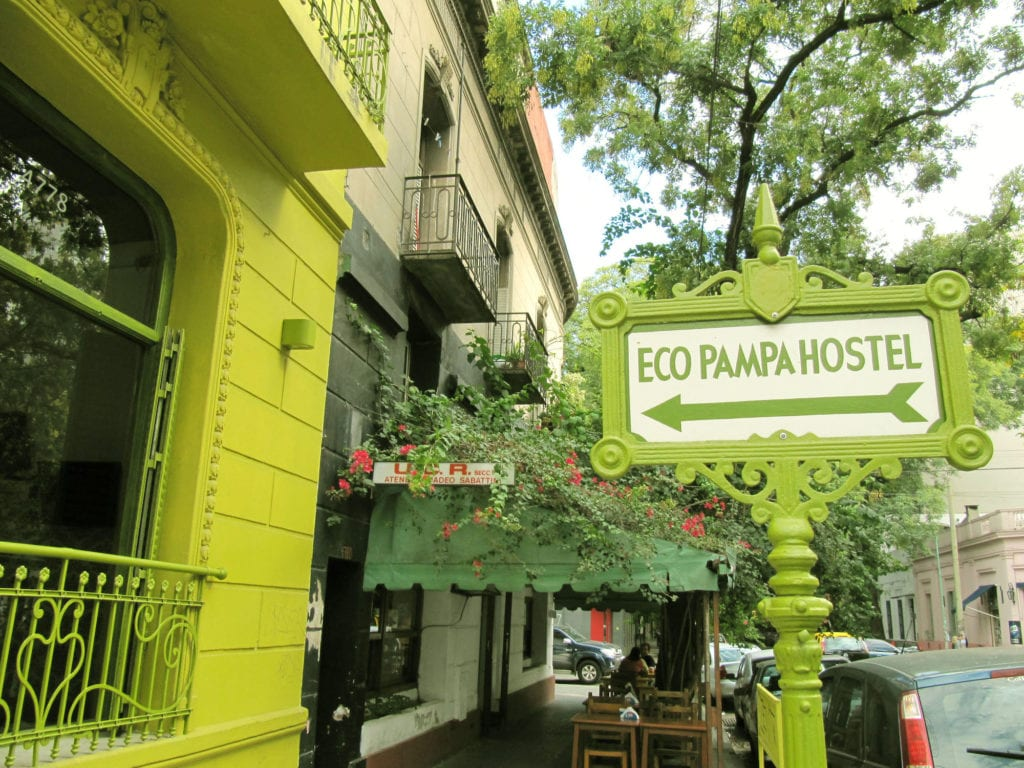 Eco Pampa Hostel ©   La Chica de Mochila