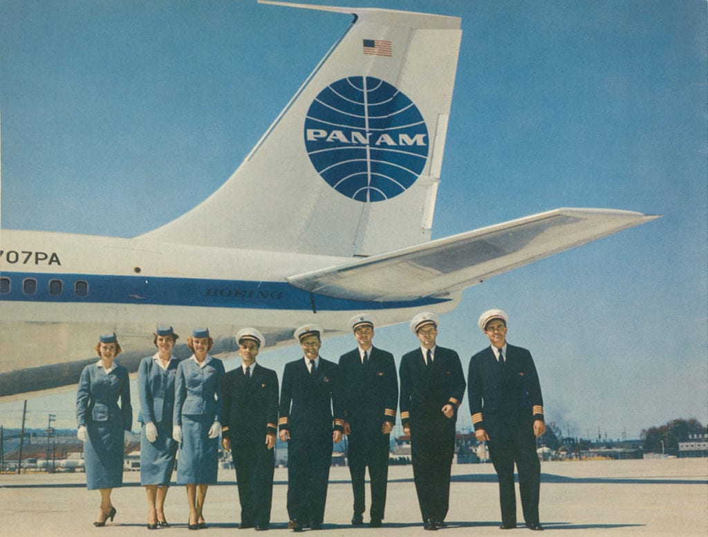 A 1959 Pan Am crew photo | © Callisto Publishers