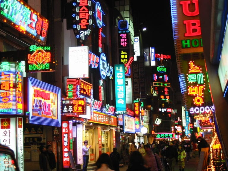Seoul by night ©   Philippe Teuwen/Flickr