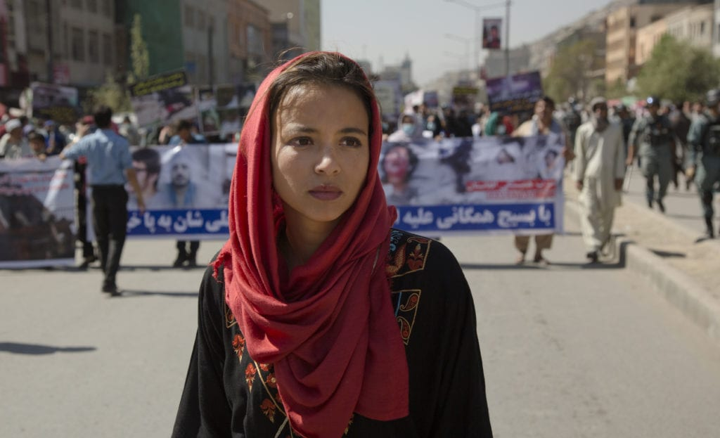 VICE Correspondent, Isobel Yeung, on assignment in Afghanistan | © Courtesy of VICE HBO