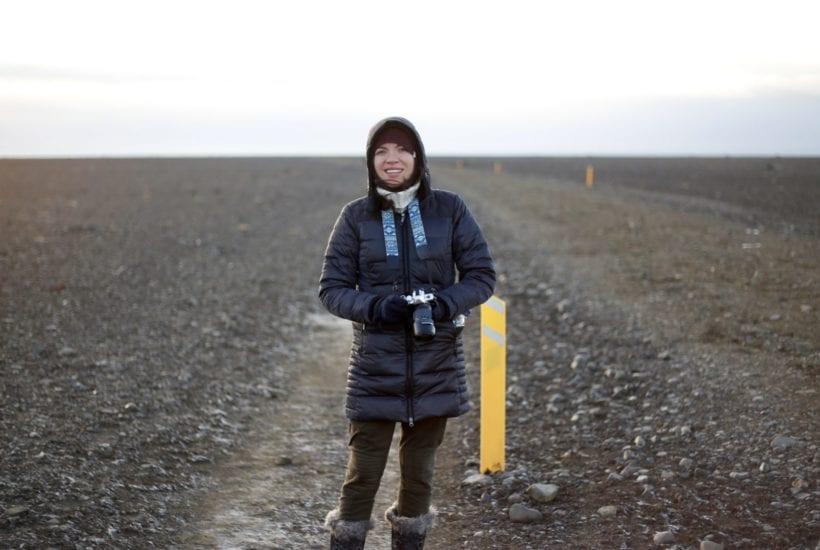 The author in Southern Iceland, en route to the Sólheimasandur plane crash | © Jeff Cerulli