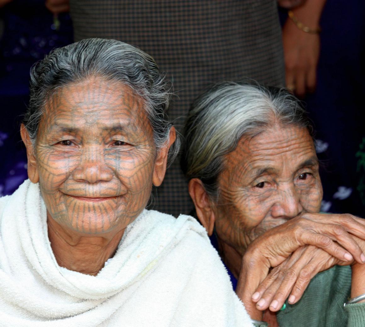 The Last Tattooed Chin State Women of Myanmar