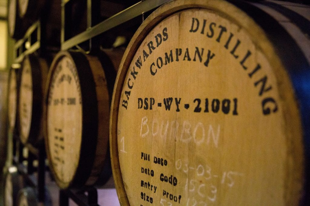 Backwards Distillery, Wyoming   © Courtesy of Wyoming Tourism