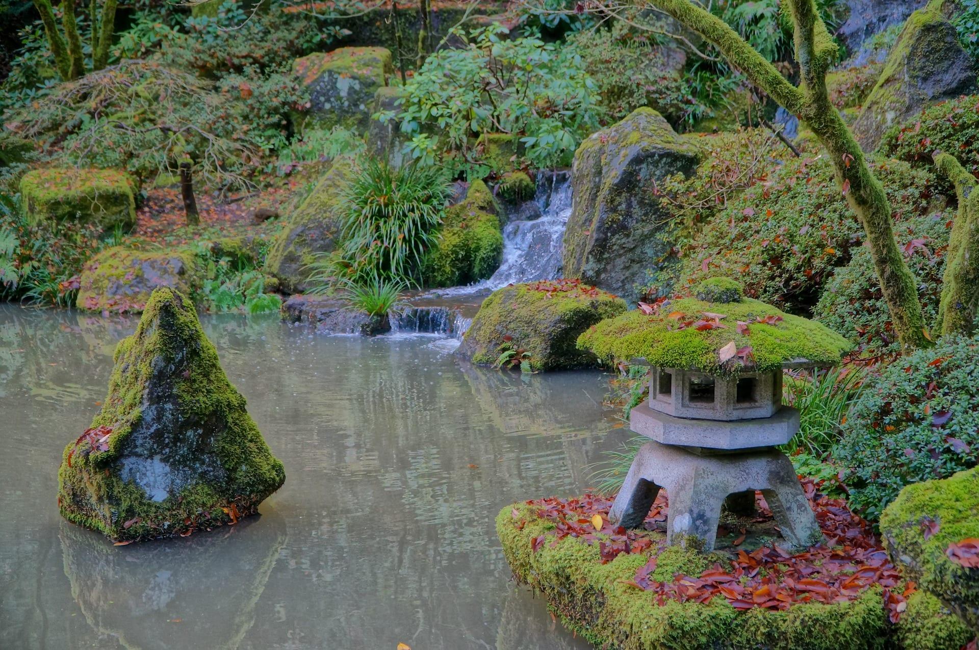 Portland Japanese Garden | © awsloley/Pixabay