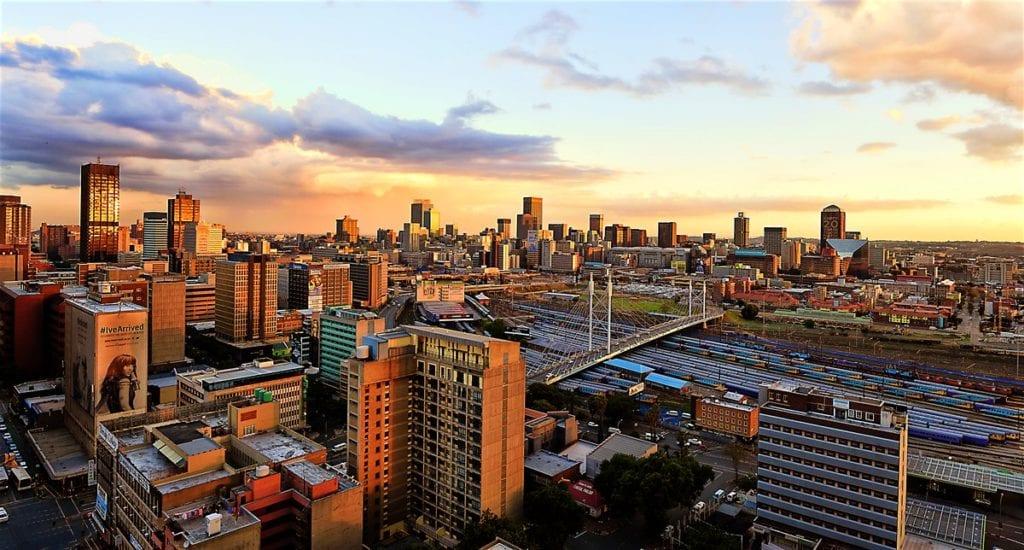 Johannesburg skyline at sunset | © Lonely Planet