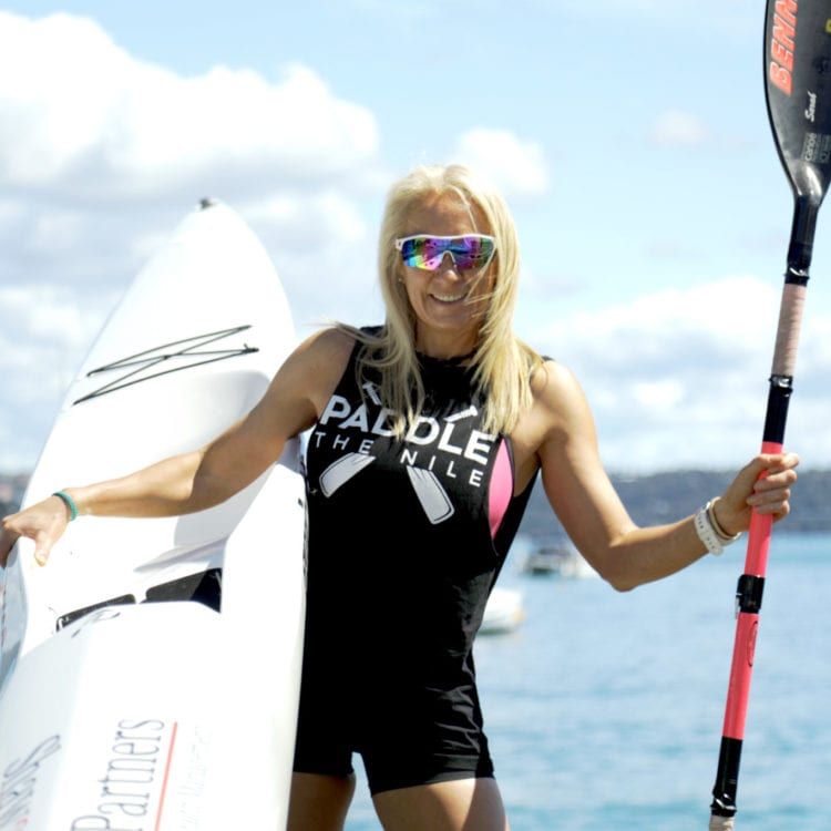 The Woman on a Mission to Paddle the Nile River