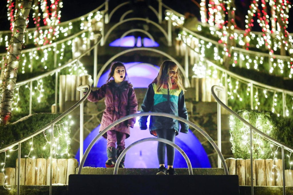Winterlights, a new holiday tradition at The Trustees' Naumkeag and Stevens-Coolidge Place | © The Trustees