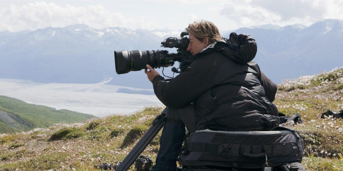 Wildlife filmmaker, Justine Evans | © Courtesy of Justine Evans