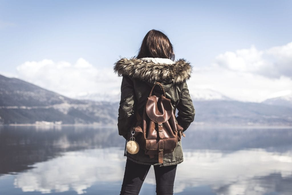 A solo female traveler | © StockSnap/Pixabay