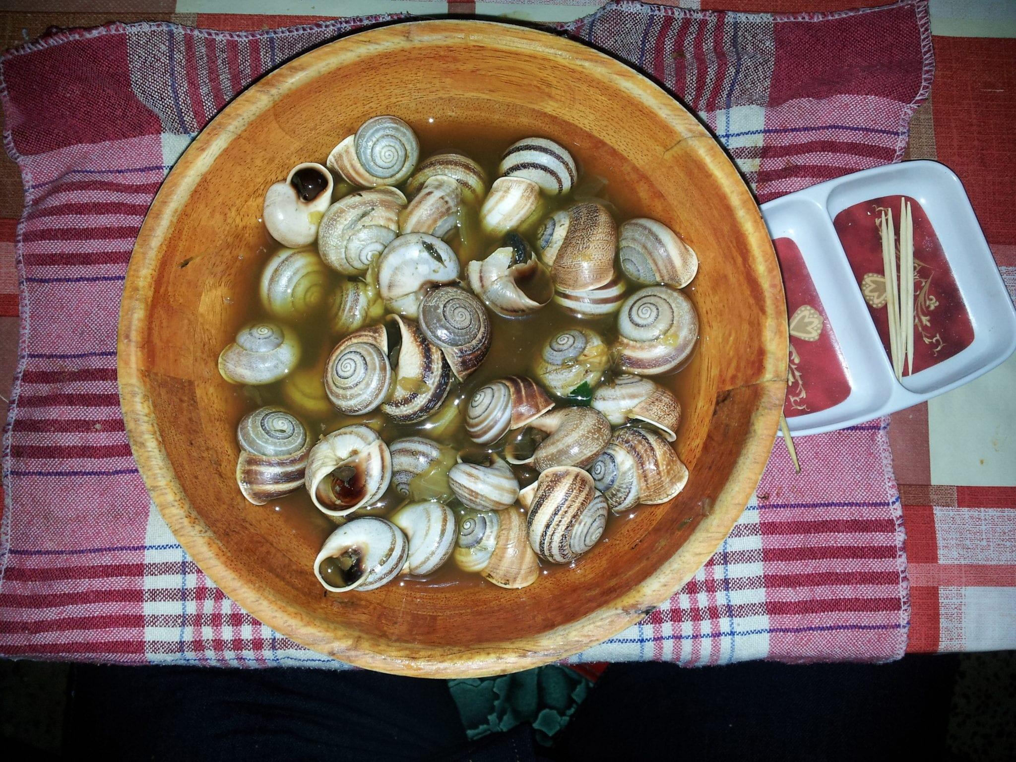 Spicy snails dish | © Dyolf77/Wikipedia