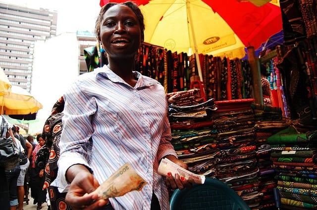 Balogun Market in Lagos | © Lola Akinmade Åkerström