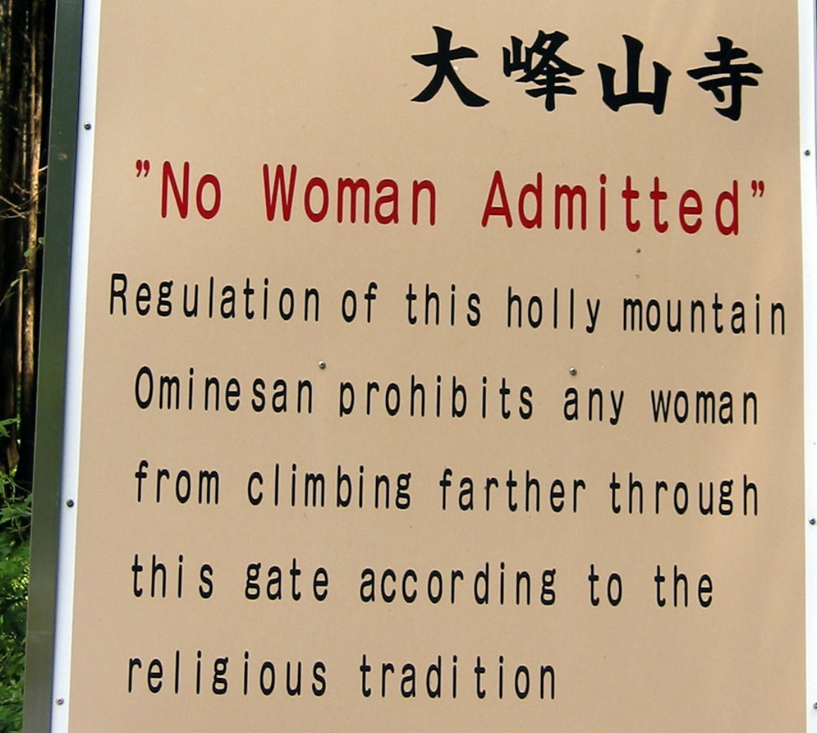 Popular Tourist Destinations that Still Ban Women
