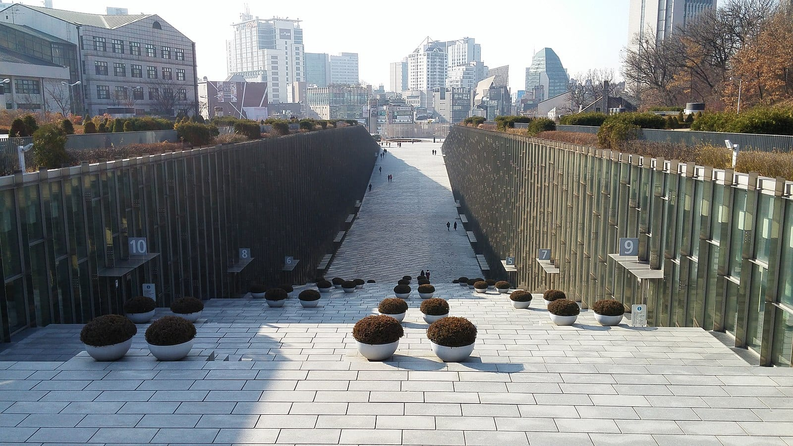 Ewha Woman's University Campus in Seoul, South Korea | ©Wikimedia Commons