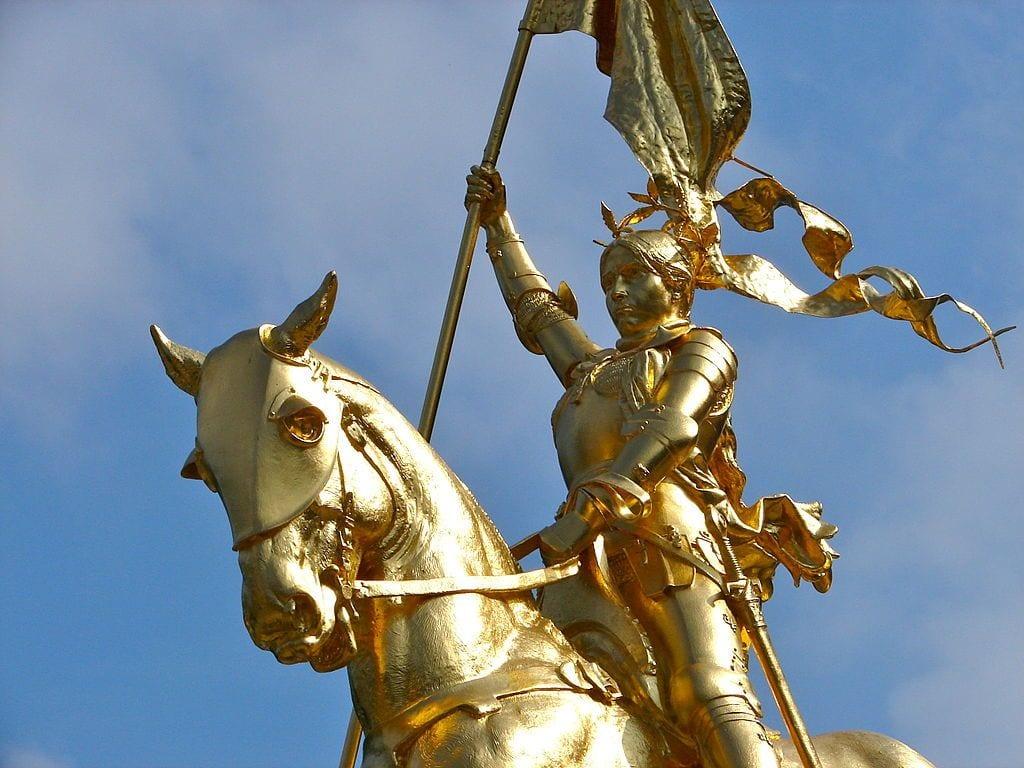 Joan of Arc Statue in NOLA | © Damsel of the Faith