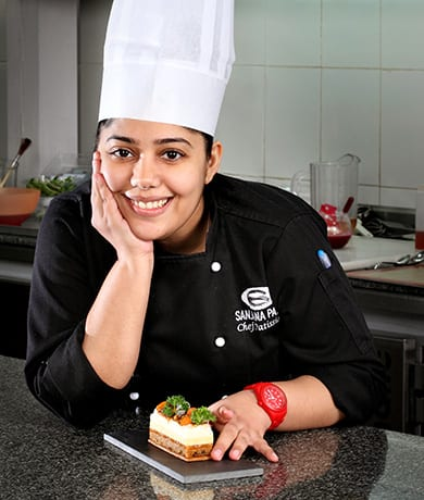 Chef Sanjana Patel, Executive Pastry Chef of LaFolie | © Courtesy LaFolie