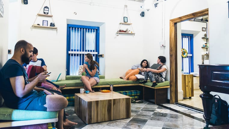 Common area | © Courtesy of HOP Hostel Mumbai