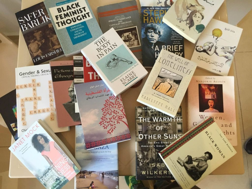 New Arrivals at the feminist Library | ©Facebook/ The Knowledge Project