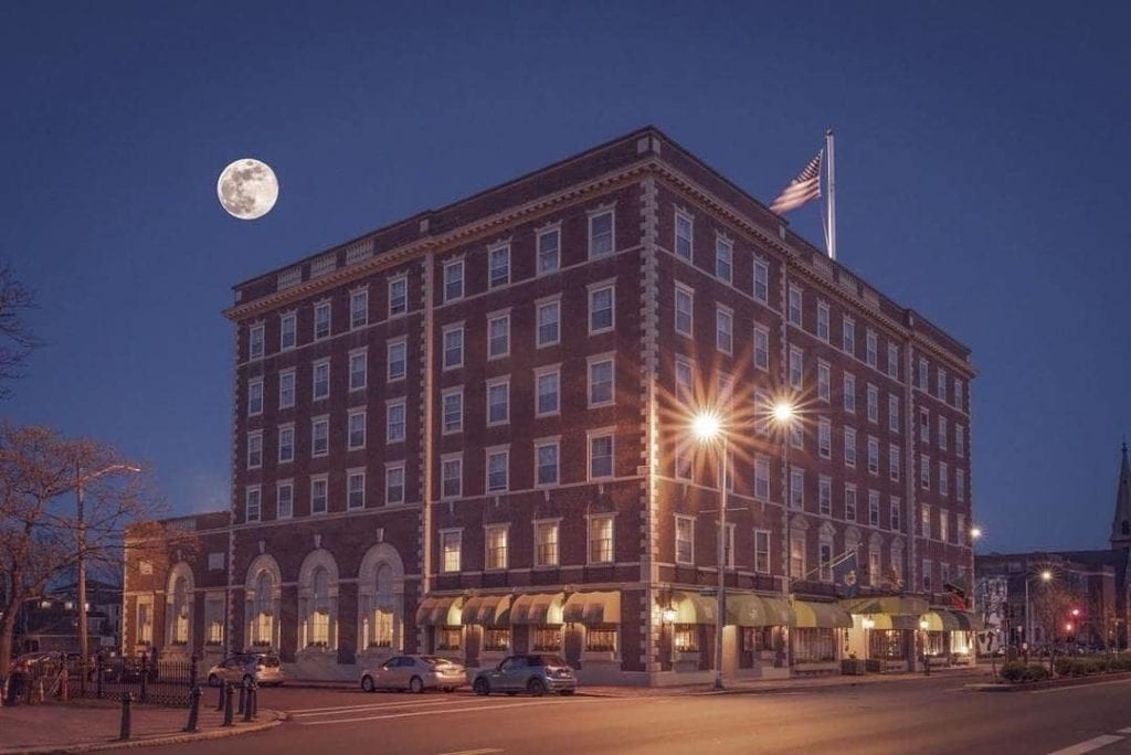 The exterior of the Hawthorne Hotel in Salem | © Facebook/Hawthorne Hotel