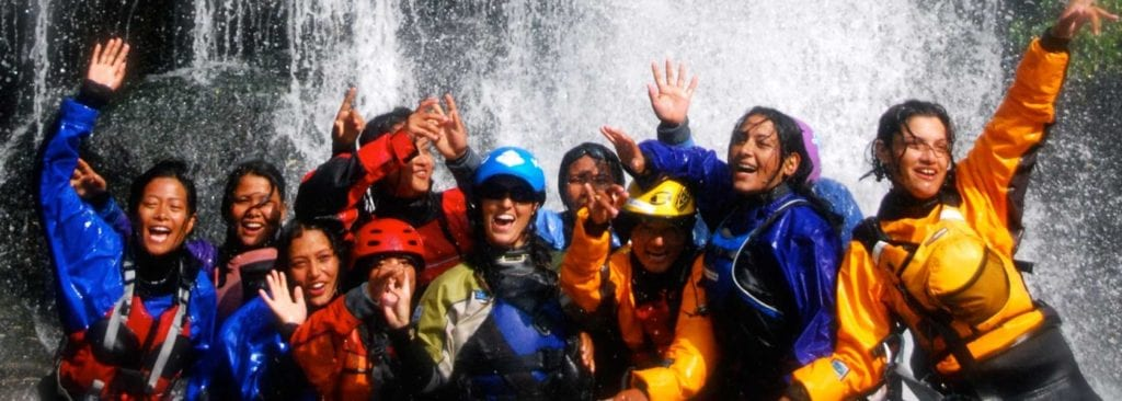 Women on tour with the first all women all skills adventure company | © Courtesy of Himalayan Girls