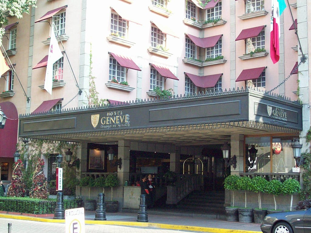 Hotel Geneve in Mexico City | © Horacio Fernandez/Wikimedia