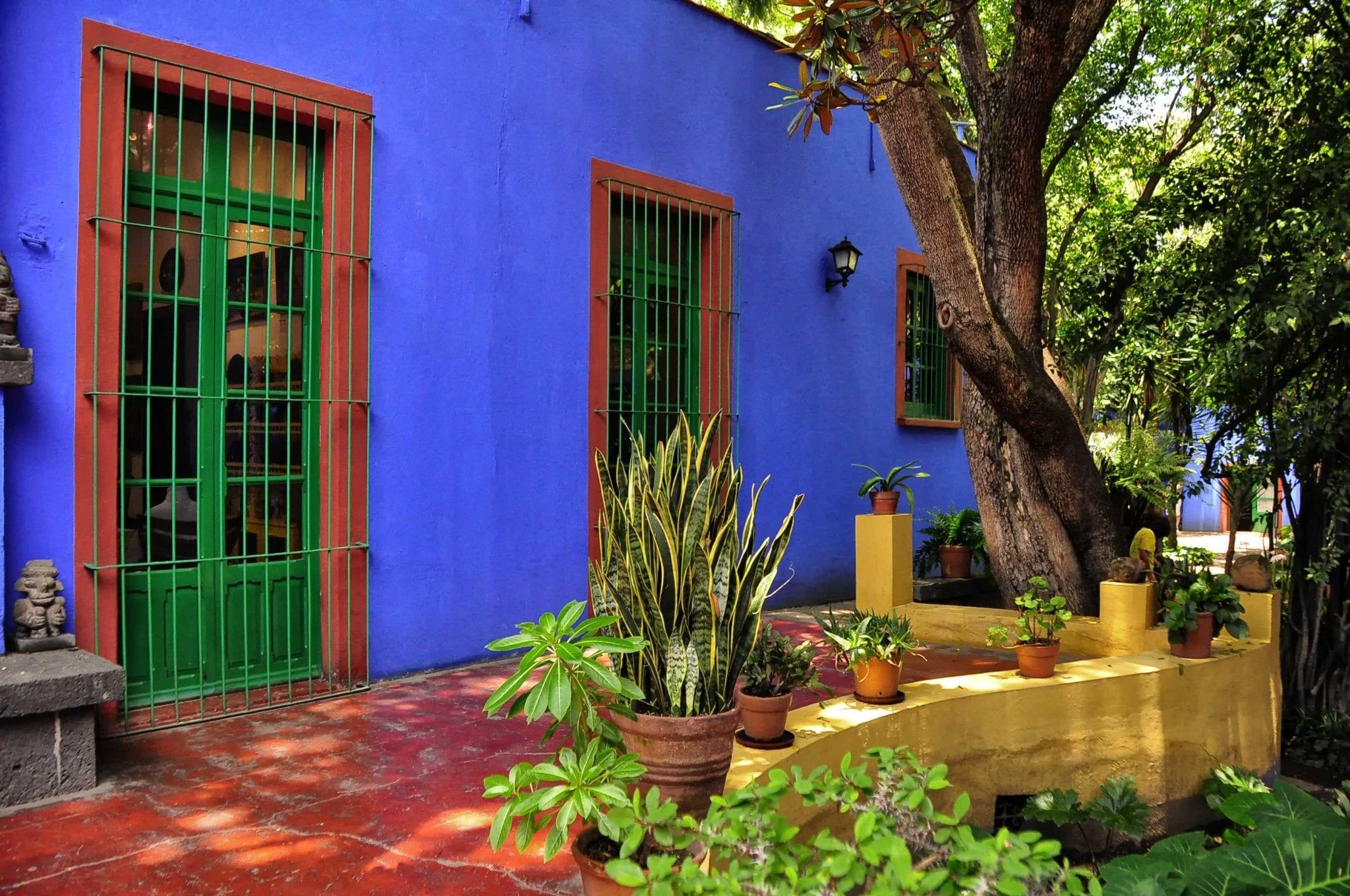 Frida Kahlo's Blue House in Mexico City | © Rod Waddington/Wikimedia