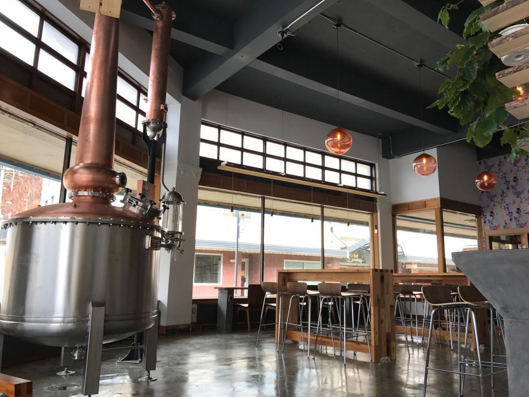 Amalga Distillery in Juneau, Alaska | © TravelJuneau.com