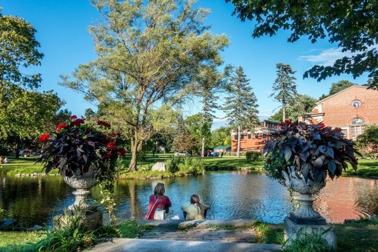 Congress Park in Saratoga Springs | TravelAddict.net