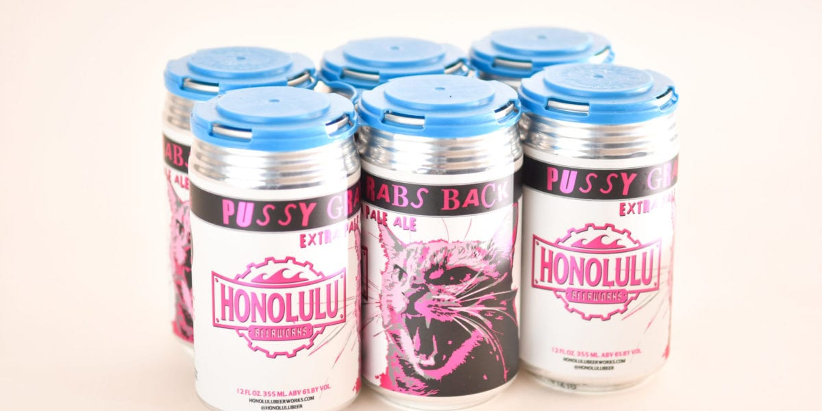 Pussy Grabs Back | Courtesy of Honolulu BeerWorks