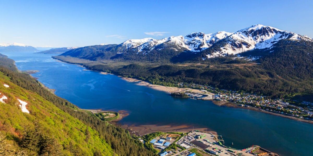 Aerial view of Juneau, Alaska | © emperorcosar/Shutterstock