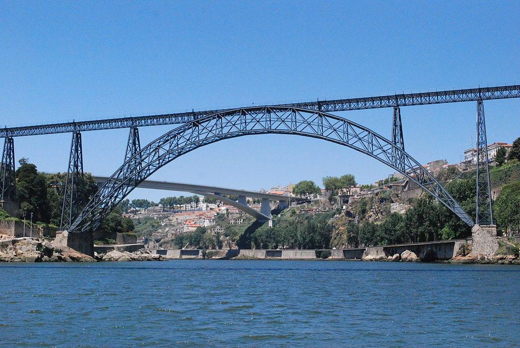 Maria Pia Bridge in Porto   © Concierge.2C/Wikimedia