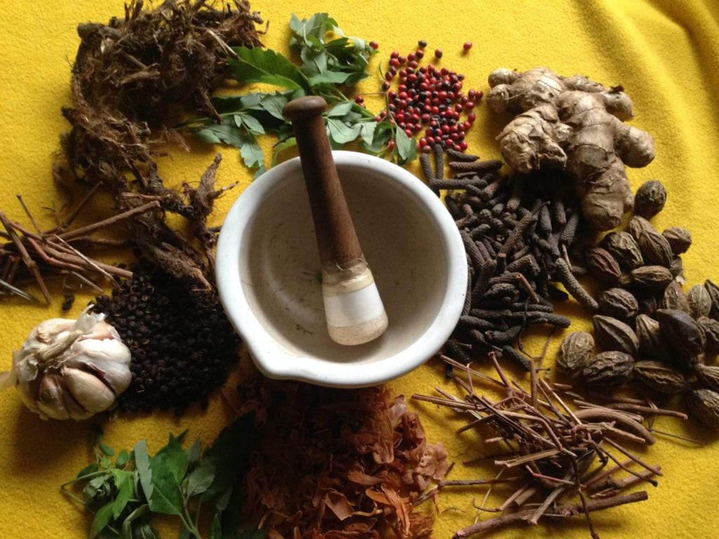 Traditional Ayurvedic herbs | ©  Moksha Ayurveda & Panchakarma Center