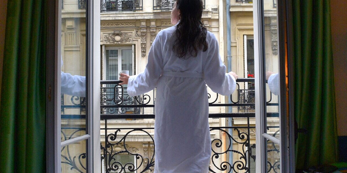 A view from the balcony of the Paris Hotel, Adèle & Jules | © Nikki Vargas