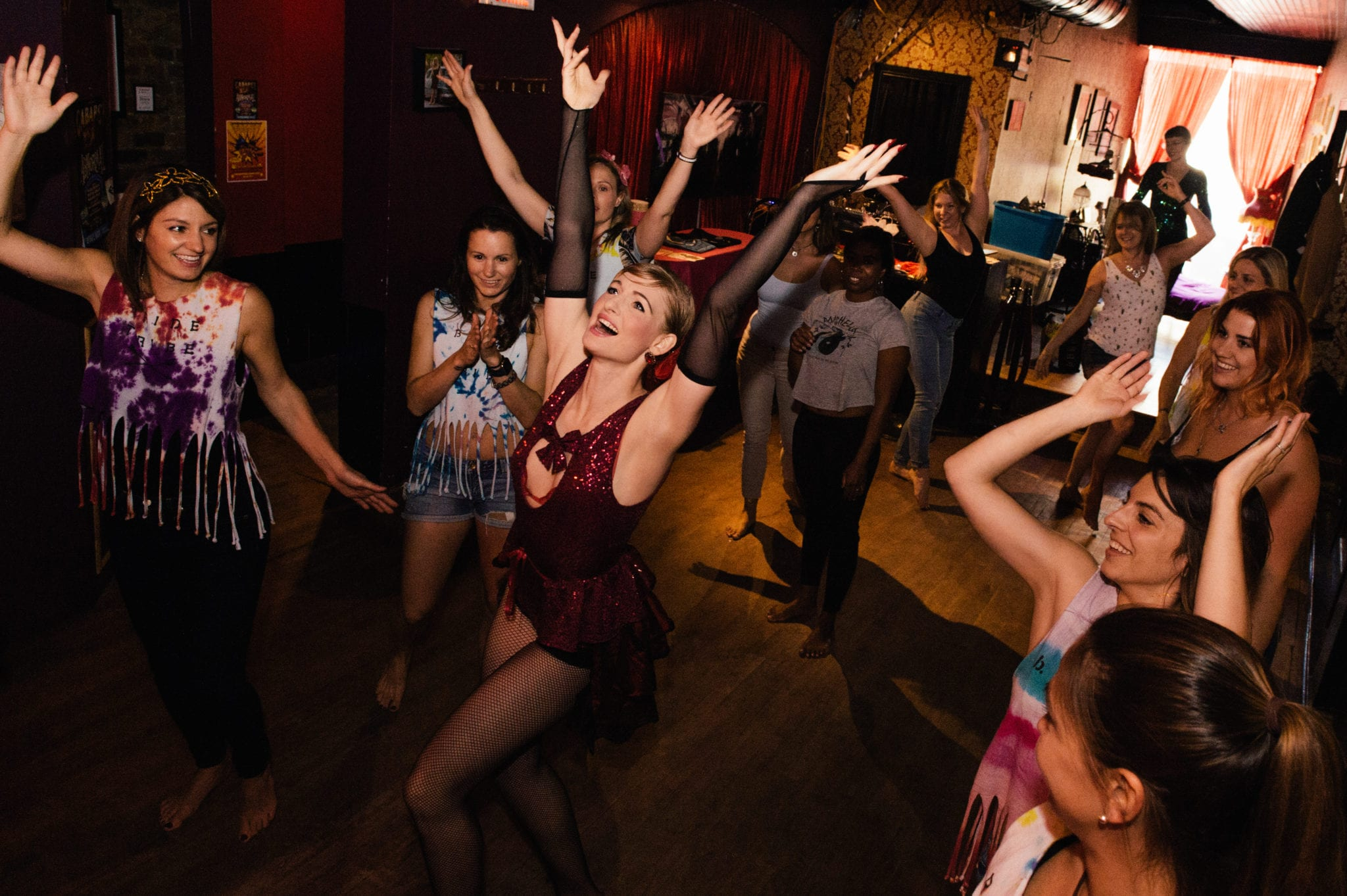 Photo courtesy of Arabesque Burlesque