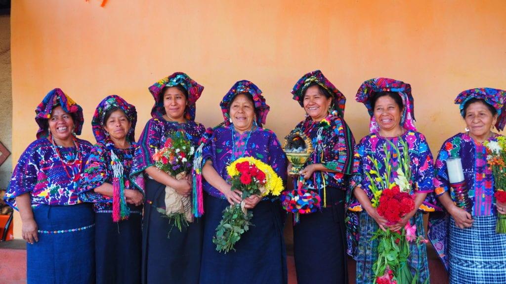 The women who make up the Consejo de Tejedoras de Santo Domingo Xenacoj | © Nikki Vargas/Unearth Women