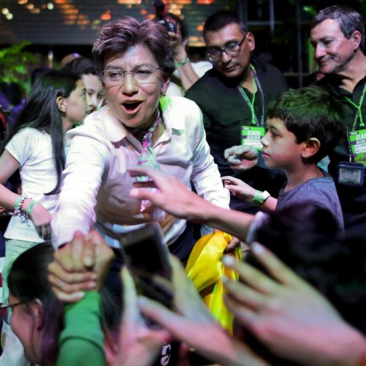 Claudia López Elected Bogotá's First Female, Gay Mayor