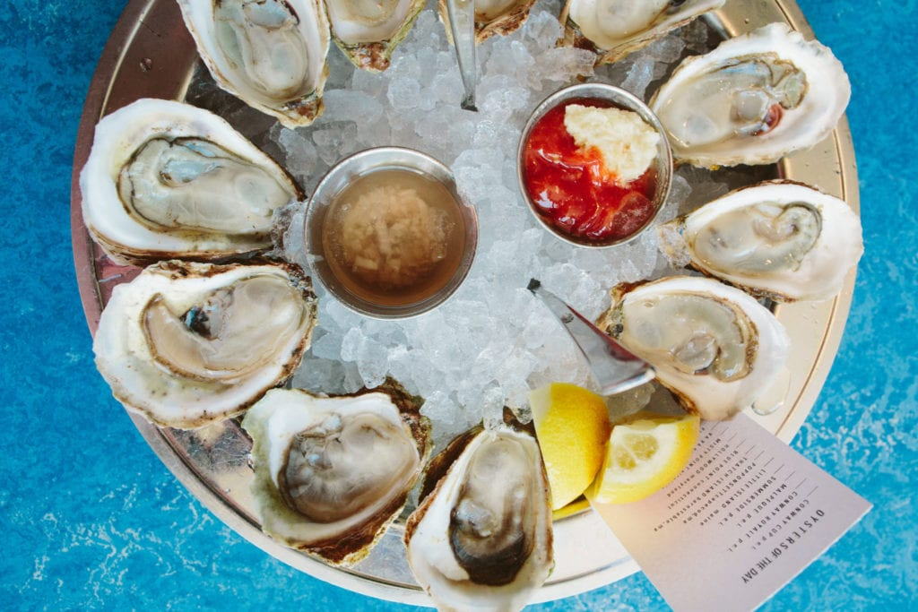 B&G Oysters in Boston | © Brian Samuels Photography