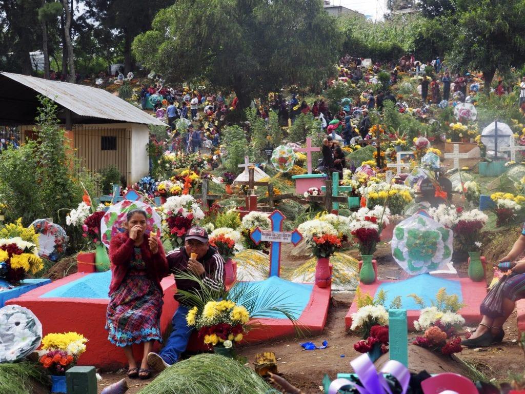 Sumpango's local cemetery on All Saint's Day   © Nikki Vargas/Unearth Women